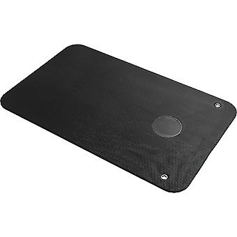 Yogamatte schwarz 101 x 60 x 1 cm