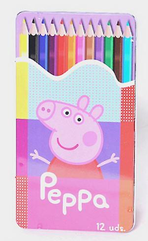 Peppa Pig 12 color Set de lápices de colores