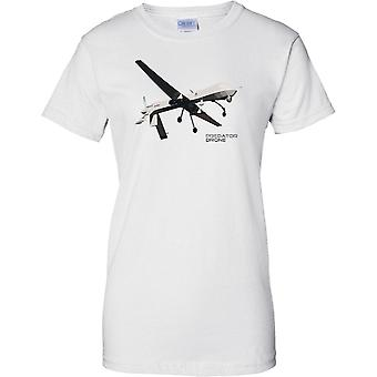 Predator Drone - Awesome UAV - Ladies T Shirt