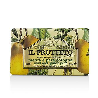 Nesti Dante Il Frutteto Purifying Soap - Mint & Quince Pear 250g/8.8oz