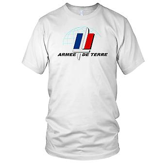 French Army Armee De Terre Mens T Shirt