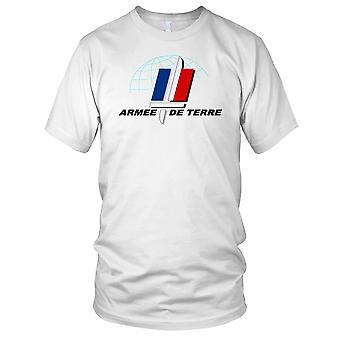 Franske hær Armee De Terre Herre T-shirt