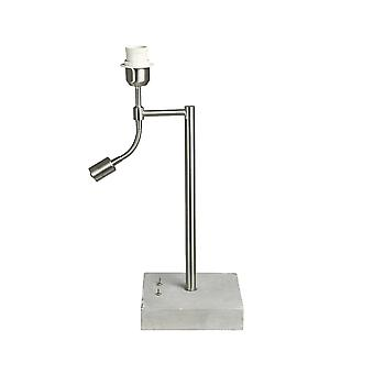 Light & Living Lamp Base With Ledflex 18x18x50 Cm ESSEN Concrete