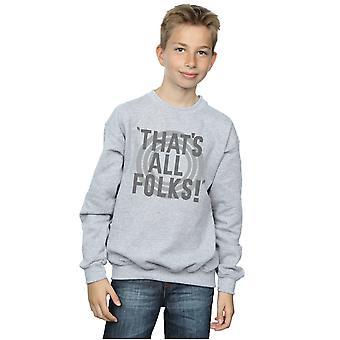 Looney Tunes drenge, det er alle folk tekst Sweatshirt