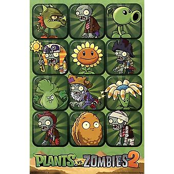 Plants vs Zombies 2 Poster Print