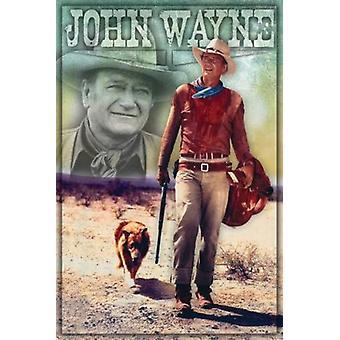 John Wayne - Long Live Poster Poster Print