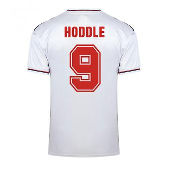 Partitur ziehen England World Cup 1982 Heimtrikot (Hoddle 9)