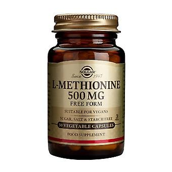 Solgar L-Methionine 500 mg Vegetable Capsules , 30