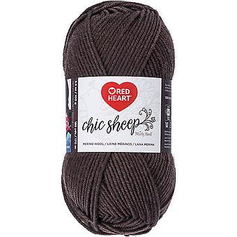 Red Heart Chic Sheep Yarn-Leather R170-5365