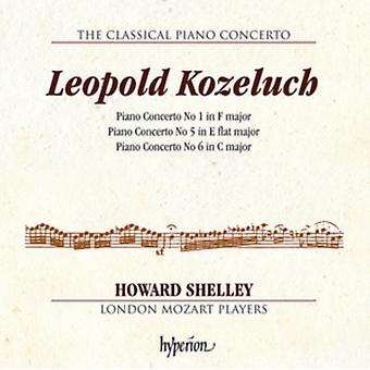 Leopold Kuzeluch:Piano Concertos [Howard Shelley; London Mozart Players] [Hyperion: CDA68154] by Mozart Players