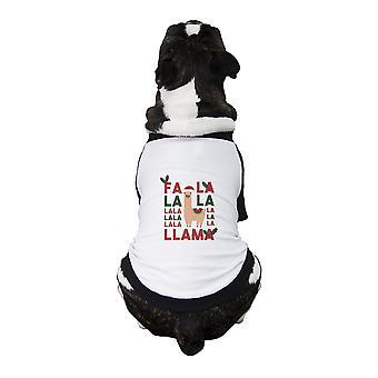 Falala Llama Pet Baseball Jersey Cute Pet Owner Gifts Small Dogs Clothes