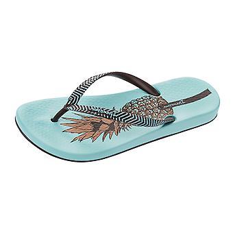 Womens Ipanema Flip Flops Anatomica natura spiaggia sandali - turchese