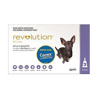 Revolution Purple 3 Pack plus Canex