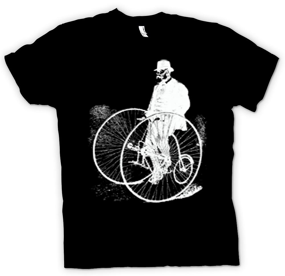 Mens T-shirt - Vintage Classic Bicycle Tricycle