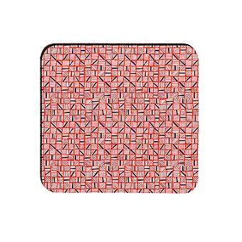 Melamaster Diced Square Moulded Coaster