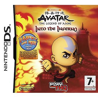 Avatar le dernier maître de l'air - dans l'enfer (Nintendo DS)