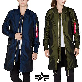 Alpha industries ladies jacket MA-1 LW coat Iridium Wmn