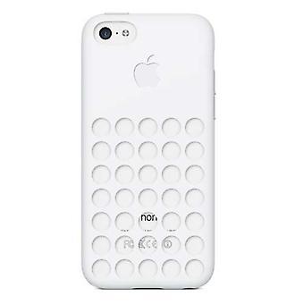 5 pack - originele Apple Silicone Case voor iPhone 5C - wit