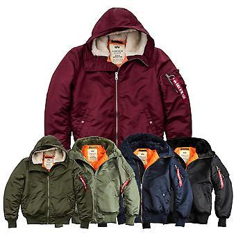 Alpha Industries Winter Jacket MA-1 Hooded