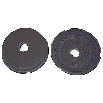 Baumatic Type ST1 Carbon Charcoal Cooker Hood Filter Pack of 2