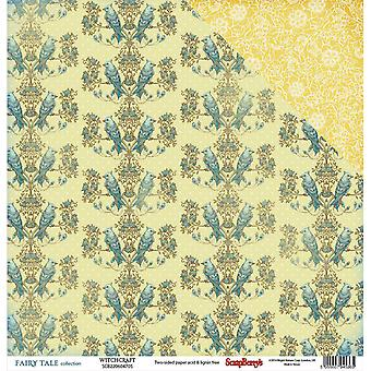 Scrapberry's Fairy Tale Double-Sided Cardstock 12