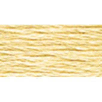 DMC 6-Strand Embroidery Cotton 8.7yd-Very Light Old Gold