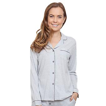Cyberjammies 3808 Women's Erica Grey Pajama Pyjama Top