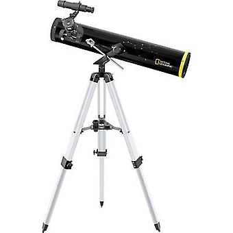 National Geographic 76/700 mm AZ Reflecting telescope Azimuthal Achromatic, Magnification 35 up to 525 x