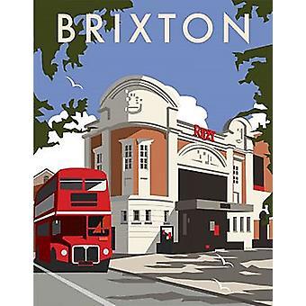 Brixton Ritzy Cinema (By Dave Thompson) Fridge Magnet