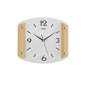 Wall clock radio AMS - 5938/18