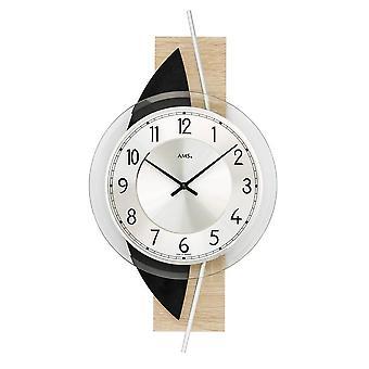 Wall clock AMS - 9551