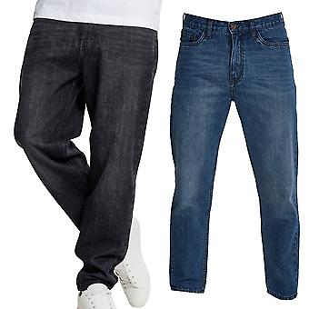 Urban classics - LOOSE FIT denim baggy jeans pants