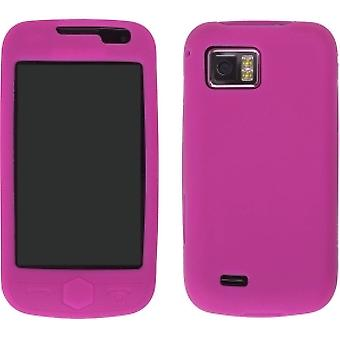 Wireless Solutions Silicone Case for Samsung I920 Omnia II - Watermelon
