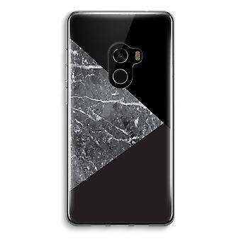 Xiaomi Mi Mix 2 Transparent Case (Soft) - Marble combination