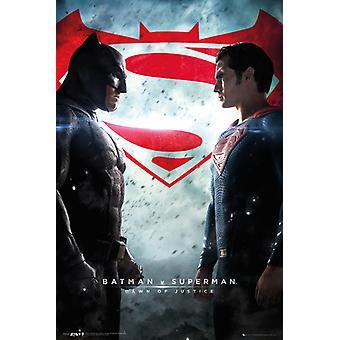 Batman Vs Superman ett ark plakat plakatutskrift