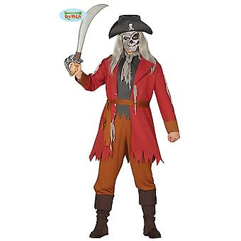 Ghost pirate Halloween Pirate Costume horror mens