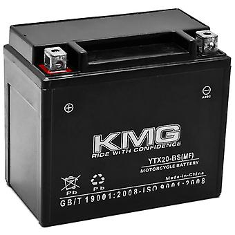 KMG YTX20-BS Battery For Buell 1200 RR1200 1988 - 1990 Sealed Maintenace Free 12V Battery High Performance SMF Replacement Maintenance Free Powersport Motorcycle ATV Scooter Snowmobile Watercraft KMG