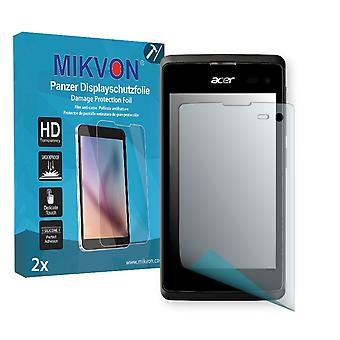 Acer Liquid Z220 Screen Protector - Mikvon Armor Screen Protector (Retail Package with accessories)