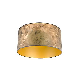 QAZQA Shade 50/50/25 Aged Bronze with Gold