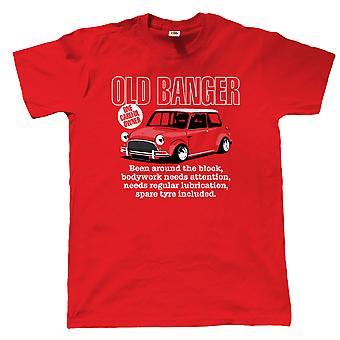Alten Banger Mens Funny Classic Mini T Shirt - Geschenk für Papa Geburtstag