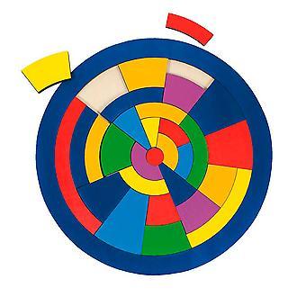 Tre sirkel Puzzle