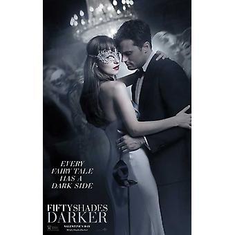 Cincuenta sombras más oscuras Movie Poster (11 x 17)