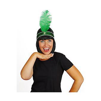 Haar-Accessoires Charleston Haarband grün