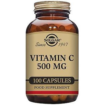Solgar Vitamin C 500 mg 100 Vegetable Capsules (Vitamins & supplements , Vitamins)