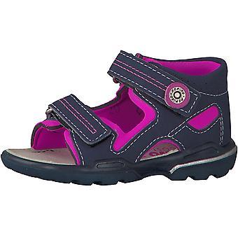 Ricosta Pepino Girls Manti Sandals Navy Pink