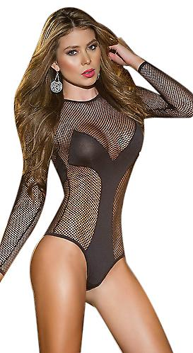 Waooh - Lingerie - Body sexy long sleeve