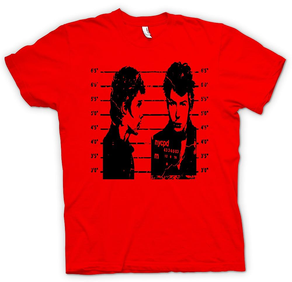 Mens T-shirt - Sid Vicious - Sex Pistols - Mug Punk
