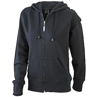 James and Nicholson Womens/Ladies Hooded Jacket