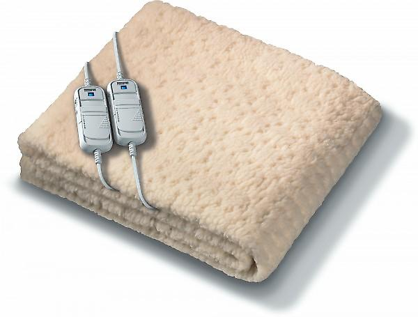 Beurer Monogram Komfort Fully Fitted Fleece Super King Size Electric Blanket With Timer
