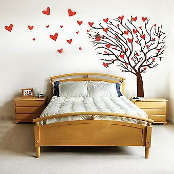 Tree Of Hearts Wall Sticker